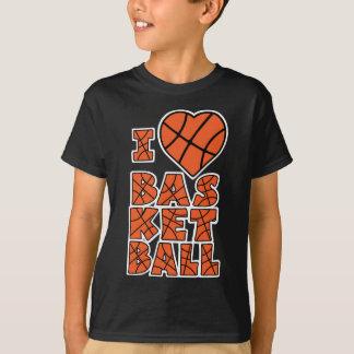 Baloncesto del amor, bloque del lg, orangewh playera
