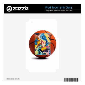 Baloncesto del amor skins para iPod touch 4G