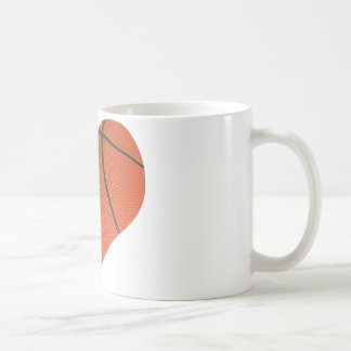Baloncesto del amor taza de café