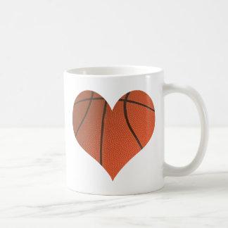 Baloncesto del amor tazas de café