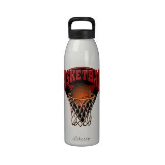 Baloncesto del aro y botella de la libertad del ta botella de agua reutilizable