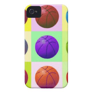 Baloncesto del arte pop iPhone 4 Case-Mate cárcasa