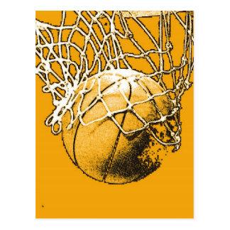 Baloncesto del arte pop postales