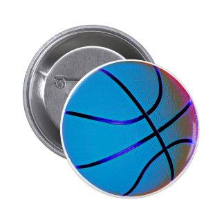 Baloncesto del azul real pins