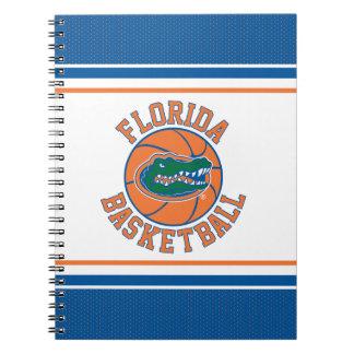 Baloncesto del cocodrilo de la Florida Cuaderno