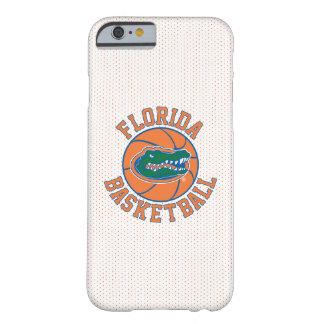 Baloncesto del cocodrilo de la Florida Funda De iPhone 6 Barely There