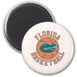 Baloncesto del cocodrilo de la Florida Imán Redondo 5 Cm