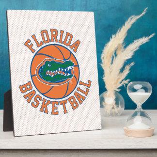Baloncesto del cocodrilo de la Florida Placas Con Fotos