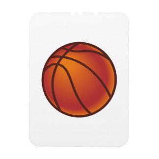 Baloncesto del dibujo animado rectangle magnet