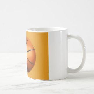 Baloncesto del efecto de la teja taza de café