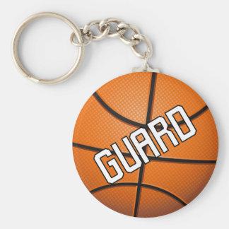 Baloncesto del guardia llavero redondo tipo pin