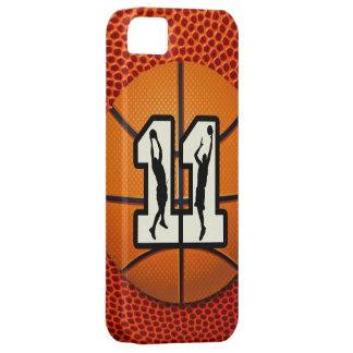 Baloncesto del número 11 iPhone 5 cobertura