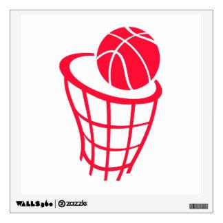 Baloncesto del rojo del escarlata