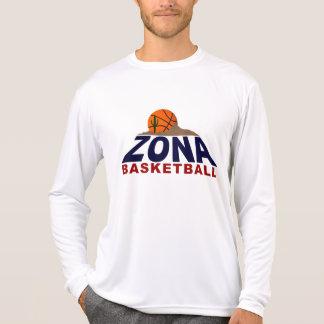 baloncesto del zona camisetas