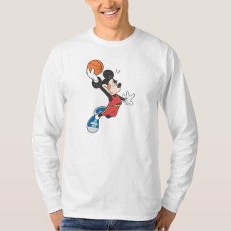 Baloncesto Dunking deportivo de Mickey el   Remeras