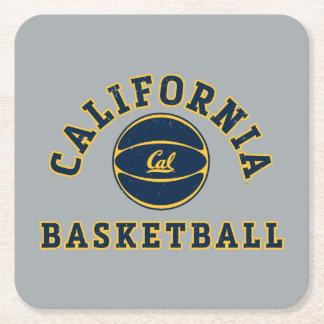 Baloncesto el | caloría Berkeley 5 de California Posavasos Personalizable Cuadrado