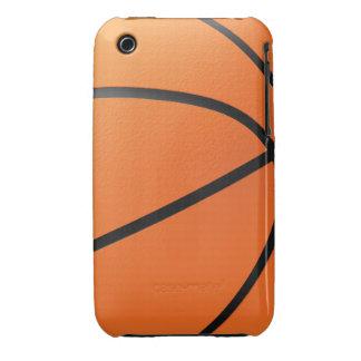 Baloncesto en 3d iPhone 3 carcasas