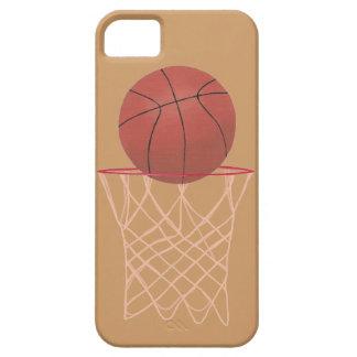 Baloncesto en aro con el iPhone neto 5 casos iPhone 5 Fundas