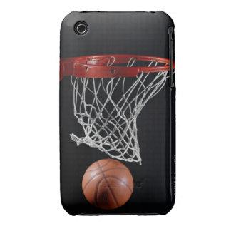 Baloncesto en aro funda para iPhone 3 de Case-Mate