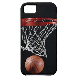 Baloncesto en aro funda para iPhone SE/5/5s