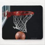Baloncesto en aro mousepad