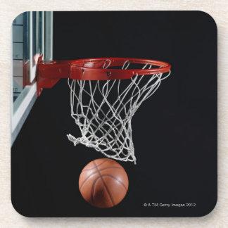 Baloncesto en aro posavaso