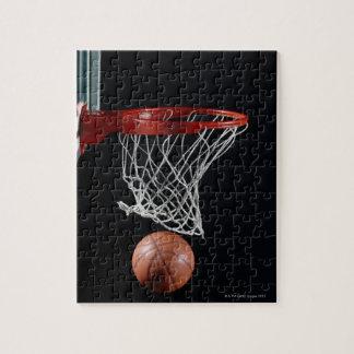 Baloncesto en aro puzzles
