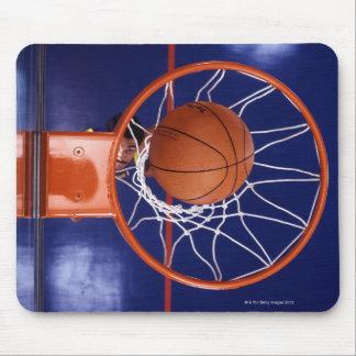baloncesto en aro tapete de ratón