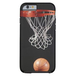 Baloncesto en el aro, primer 2 funda resistente iPhone 6