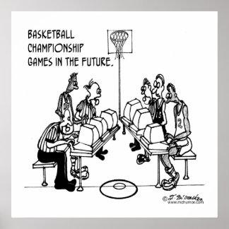 Baloncesto en el futuro póster