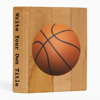 Baloncesto - escriba su propio título mini carpeta