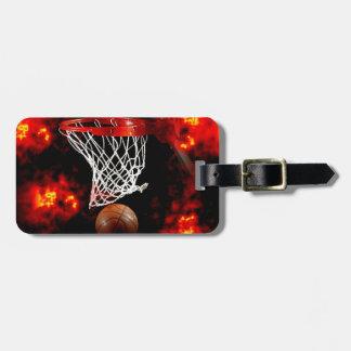 Baloncesto Etiquetas De Equipaje