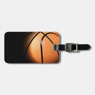 Baloncesto Etiqueta De Maleta