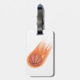 baloncesto etiquetas maletas