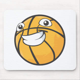 Baloncesto feliz mousepad