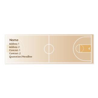 Baloncesto - flaco tarjeta de visita