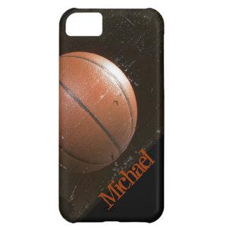 Baloncesto fresco del Grunge personalizado Carcasa iPhone 5C