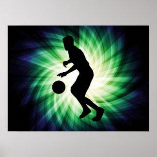 Baloncesto fresco poster