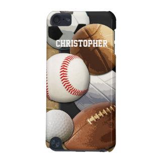 Baloncesto/fútbol/fútbol de los deportes funda para iPod touch 5G