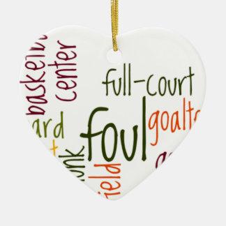 Baloncesto games.png ornamento de navidad