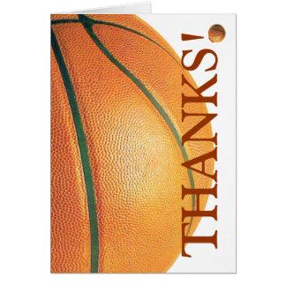 ¡Baloncesto-Gracias! Tarjetón