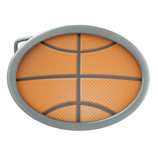 Baloncesto Hebillas Cinturón Ovales