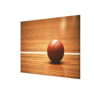 Baloncesto Impresión En Lienzo