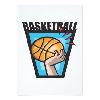 Baloncesto Invitaciones Personales