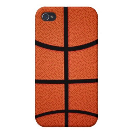 Baloncesto iPhone 4 Fundas
