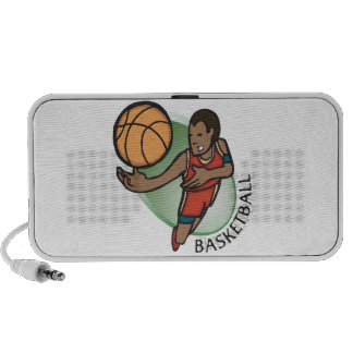 Baloncesto Laptop Altavoz