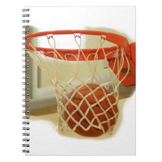 Baloncesto Libros De Apuntes Con Espiral