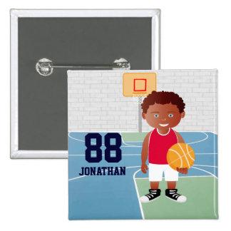 Baloncesto lindo personalizado pins