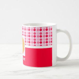 Baloncesto lindo tazas de café