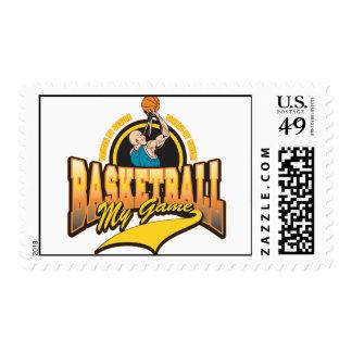 Baloncesto mi juego sellos postales